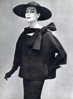 Christian Dior (as modeled by the incomparable Dovima), 1953