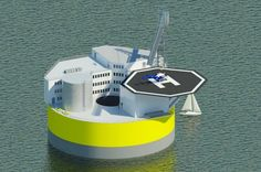 Offshore nuclear plants