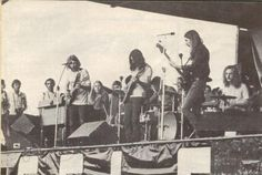 The band playing St. Paul July, 24 1971.