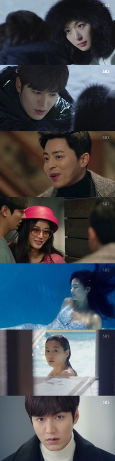 [Spoiler] Added episode 7 captures for the #kdrama 'The Legend of the Blue Sea'