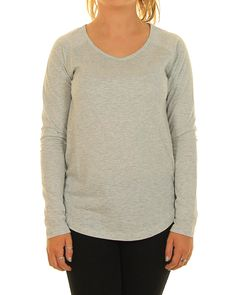 Inseption - Ladies - Rip Curl - Premium Basic LS Tee - Grey