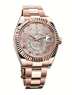 Baselworld 2014: 3 New Rolex Sky-Dwellers (Updated with Live Image) Rolex Oyster Perpetual, Luxury Watch Brands, Luxury Watches For Men, Bracelet Nato, Swiss Army Watches, New Rolex, Men's Rolex, Patek Philippe, Tag Heuer