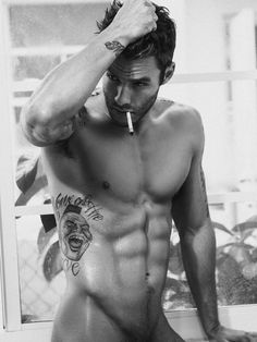 Smoking-hot Micah Truitt naked and ready. More hot men Hot Guys, Hot Men, Inked Men, Inked Girls, Man Smoking, Smoking Kills, Le Male, Raining Men, Attractive Men