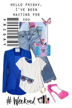 """""""Happy Friday!!!"""" by shortyluv718 ❤ liked on Polyvore featuring Urban Outfitters, M.i.h Jeans, Hebe Studio, Casadei, Hollister Co., Louis Vuitton, Thierry Lasry and Marc Jacobs"""
