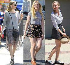 Celebrity Street Style: Kate Bosworth, Elle Fanning and Diane Kruger | A Cup of Latte