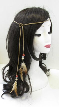 Ureinwohner Indianer Feder Kopfschmuck Stirnband braun Boho Krieg Bonnet Indianer Federschmuck Stirnband Braun Boho War Bonnet The post Indianer Federschmuck Stirnband Braun Boho War Bonnet & Fotografie appeared first on DIY . Boho Headband, Feather Headband, Headbands, American Indian Costume, Indian Costumes, Native American Halloween Costume, Indian Diy, Indian Crafts, Indian Halloween Custome