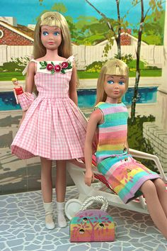 nostalgic Skipper  ||  Me n' My Doll and Sunny Pastels 1965
