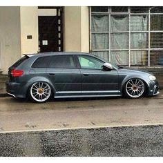 8P RS3 Audi Sportback, Audi Rs3, Audi Wagon, A3 8p, Ride 2, Car Wheels, Modified Cars, Car Manufacturers, Hot Cars