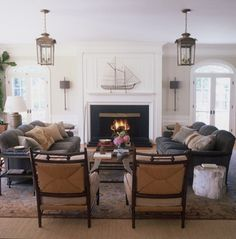 Living Room, Rumson, New Jersey by Harbinger