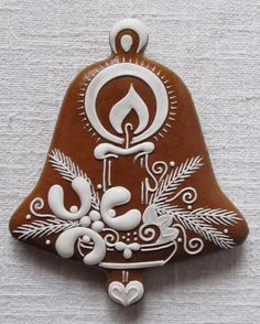 Today we are looking at Moravian and Bohemian gingerbread designs from the Czech Republic. Back home, gingerbread is eaten year round and beautifully decorated cookies are given on all occasions. Gingerbread Decorations, Christmas Gingerbread, Christmas Candy, Christmas Desserts, Christmas Treats, Gingerbread Cookies, Holiday, Gingerbread Houses, Iced Cookies
