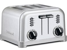 Metal Classic Toaster (4-slice): Brushed Stainless by Cuisinart, Epicurious, Sale was $130.00 now $60.05