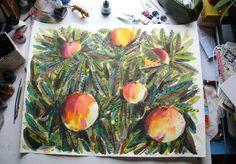 peach tree - Elizabeth Graeber