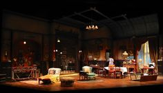 You Can't Take it With You. Geva Theater. Scenic design by Bill Clarke. 2012