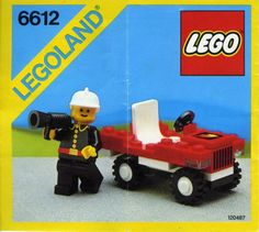 6612-1: Fire Chief's Car | Brickset: LEGO set guide and database