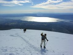 Villarrica Volcano, Villarrica's National Park, Lake District, Chile