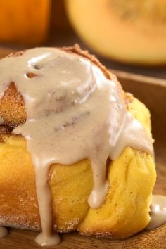 Pumpkin Cinnamon Rolls - These were gooey, warm and delectable.