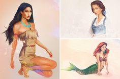 Fairy Tales: Real Life Disney Characters - Blush and Jelly Disney Word, Disney Theme, Modern Disney Characters, Cartoon Characters, Fictional Characters, Disney Magic, Walt Disney, Disney Princess Art, Disney Princesses