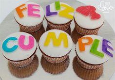 Cupcakes regalo para desear un dulce cumpleaños ^^