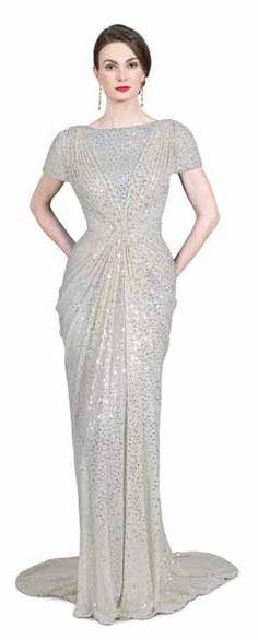 From hostess dresses to red-carpet glitz, you can't get more glam than a glittering Tadashi dress.    #tadashi #vegas #where