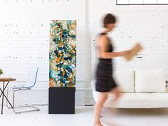 Great idea to separate a space, the stand'ART  #homeliving #homeinspiration #interiordesigner #art #design #Interiordecor #Interiordesigners #instaart #homeblogger #interiorandhome #interiorinspiration #decor #decoration #deco #deiNERI #standART #deiNERIart #deiNERIstandart