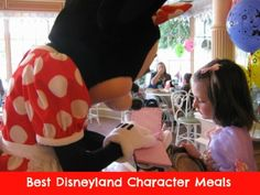 Which Disneyland Character Meal Is Best for Your Family? Get tips from the Travel Mama here.