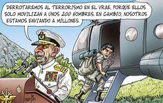 Carlincatura del martes 28 de agosto, del 2012.