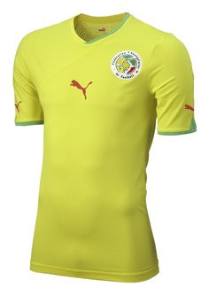 Senegal (Fédération Sénégalaise de Football) - 2010/2011 Puma Away Shirt