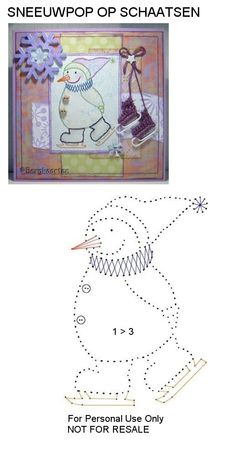 The Latest Trend in Embroidery – Embroidery on Paper - Embroidery Patterns Embroidery Cards, Christmas Embroidery Patterns, Embroidery Patterns Free, Card Patterns, Cross Stitch Embroidery, Hand Embroidery, Stitch Patterns, Stitching On Paper, Sewing Cards