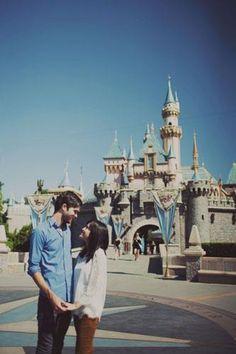 Disneyland engagement