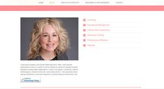 Website design by Two Hats Consulting for psychotherapist Karen Nam, LCSW