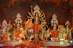 Bombay Durgabari Samiti Durga Puja -If Only Durga Put A Bit of Humanity In The People Who Serve Her