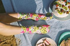 Julie White - Straya Daze Kiwi Socks