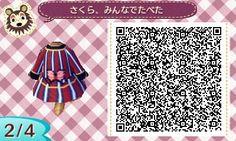とびだせどうぶつの森 AKB衣装 その616 桜、みんなで食べた 宮脇咲良Ver