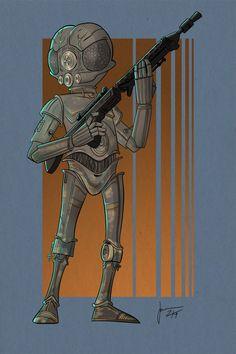 Cool STAR WARS Bounty Hunter Geek Art - News - GeekTyrant