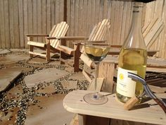 Pallet Adirondack chairs #Chair, #Pallets