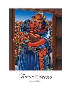 Amor Eterno Simon Silva Print (Signed)