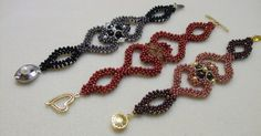 Featured Eye Candy & Free Beading Patterns from Laura's Beads and Jewelry Boutique featured in Bead-Patterns.com Newsletter!