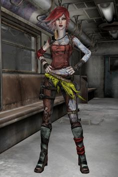 Borderlands 2 - Lilith by IshikaHiruma on DeviantArt Borderlands Tattoo, Lilith Borderlands, Borderlands Cosplay, Borderlands Series, Tales From The Borderlands, Redhead Characters, Female Characters, Cyberpunk Character, Cyberpunk Art