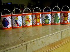 Set of 8 Baby Einsteins birthday party favor goodie bags boy girl