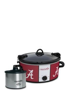 CrockPot  University of Alabama CrockPot Slow Cooker with Lil Dipper