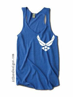 Simple Military Tank - at ease designs usmc navy army usaf uscg clothing size small Airforce Wife, Military Wife, Military Tank, Air Force Pictures, Air Force Love, Air Force Wedding, Kinds Of Clothes, Military Fashion, Cool Shirts