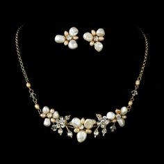 Elegance By Carbonneau Keshi Pearl Jewelry Set $38