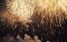 glisten of fireworks