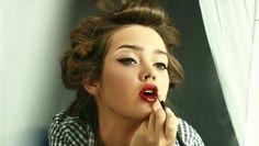 Maquillaje moderno de los 50's