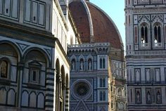 Florence and the Santa Maria del Fiore - an impressive freestanding dome.  Awesome!