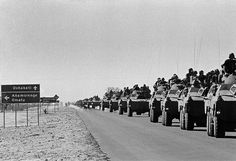Fire-power on a mission - SADF 61 Mechanised Battle Group heads west of Ruacana in South West Africa/Namiba en route to Cunene in Angola 1988 - Operation Hilti/Excite. West Africa, South Africa, Once Were Warriors, Army Day, Military Branches, Defence Force, Fire Powers, African History, Armed Forces