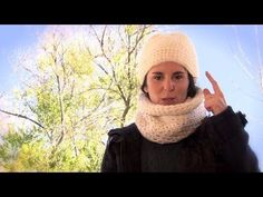 Cómo hacer un gorro y un cuello de ganchillo | How to make a crochet hat and neck warmer - YouTube