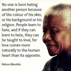 Thank you, for teaching the world the right way to fight for humanity. The world is better because of your amazing spirit. Rest in peace Mr. Mandela, our prayers are with your family and the world.