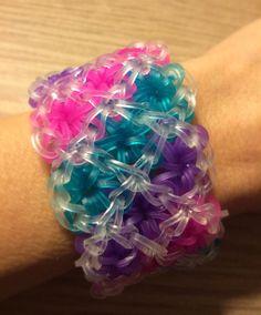 Rainbow Loom  Handmade Jelly Colors & Clear by KnittyGrittyMarket, $16.00