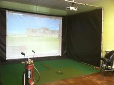 Out performing all golf simulators these TGC ultimate golf simulator systems by Personal Pro come with the golf club game software with over golf courses Ping Golf Clubs, Golf Clubs For Sale, Home Golf Simulator, Golf Gps Watch, Golf Chipping Tips, Golf Apps, Golf Pride Grips, Golf Simulators, Public Golf Courses